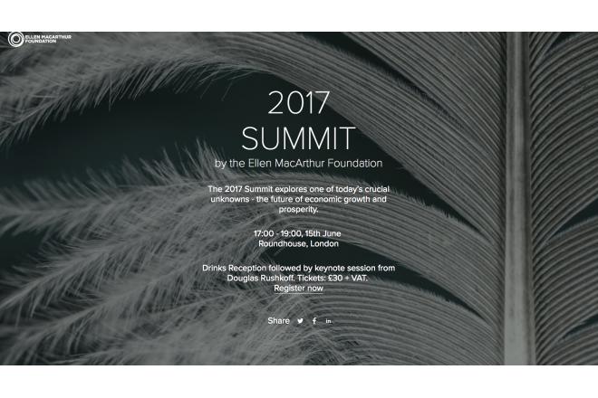 Ellen MacArthur Foundation's Summit 2017