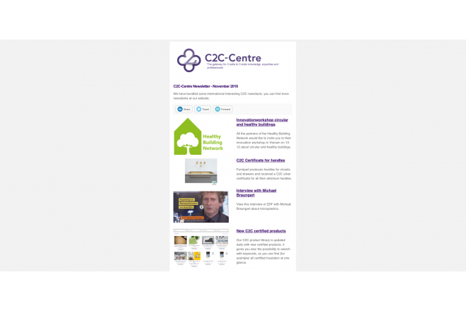 C2C-Centre newsletter November