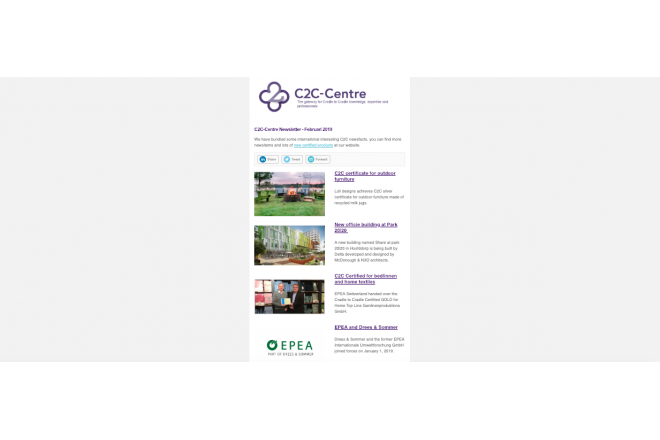 C2C-Centre English newsletter of February