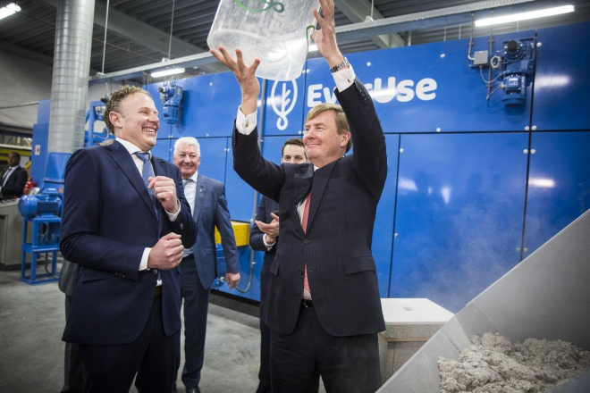 King Willem Alexander opens factory of a C2C certified product
