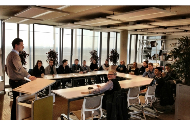 Students of the Fontys gain knowledge about Cradle to Cradle® at the C2C ExpoLAB