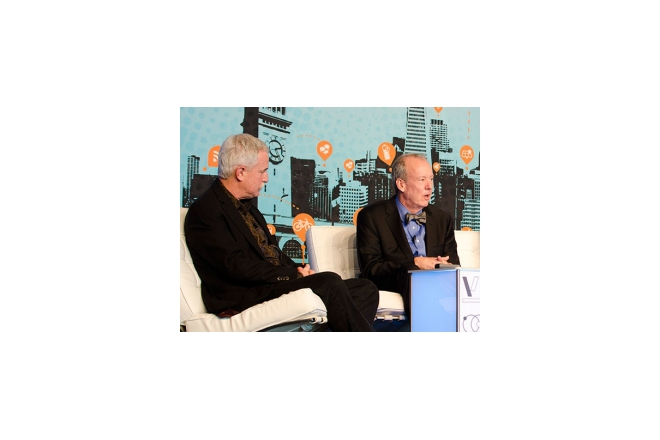 Joel Makower of GreenBiz.com talks to Bill McDonough about 'The Upcycle'
