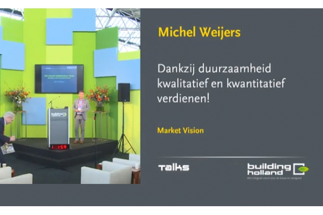 Michel Weijers - Sustainability as a business case and quality paradigm