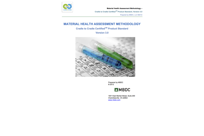 Material Health Assessment Methodology