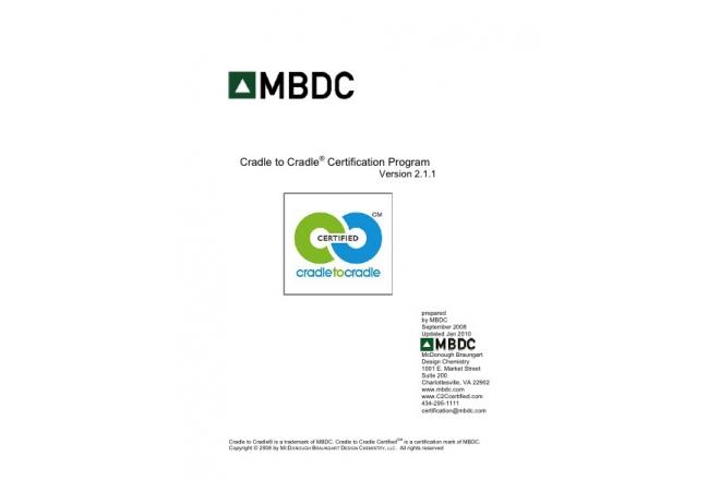 Cradle to Cradle® Certification Program