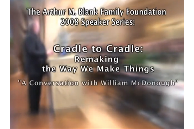 William McDonough: Cradle to Cradle Design