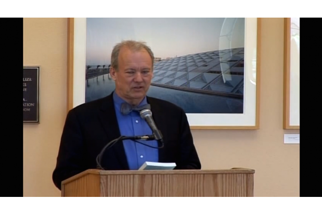 William McDonough Delivers Speech to Stanford University Libraries