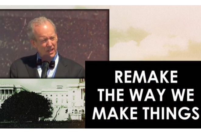 William McDonough at Global Citizen 2015 Earth Day