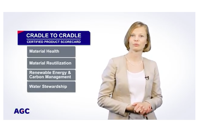 Cradle to Cradle Certified Bronze for AGC's insulating glass