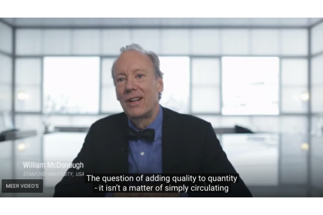 William McDonough at the World Economic Forum   The Fourth Industrial Revolution