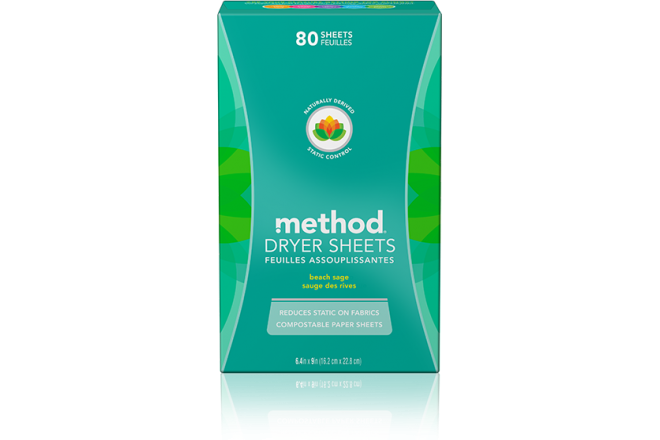 Now Method home dryer sheets are C2C certifed