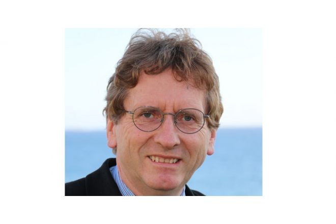 Michel Braungart at Watervisie Congress in Terneuzen February 18