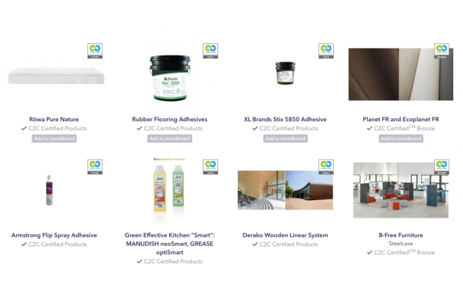 New C2C Certified products at C2C-Centre
