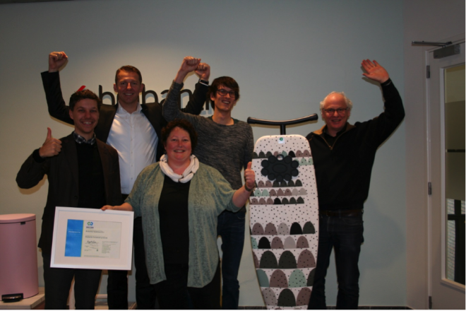 Brabantia receives Cradle to Cradle bronze certificate for Brabantia Ironing boards