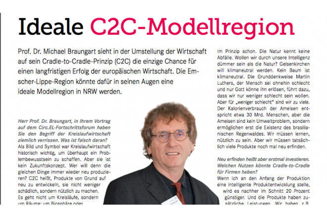 Interview with Michael Braungart by UMBAU21 magazine