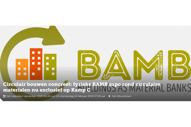Visit the Reversible Experience Modules (REMs) of EPEA / BAMB in Kamp C