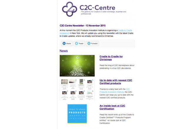 C2C-Centre newsletter 13-11-2015