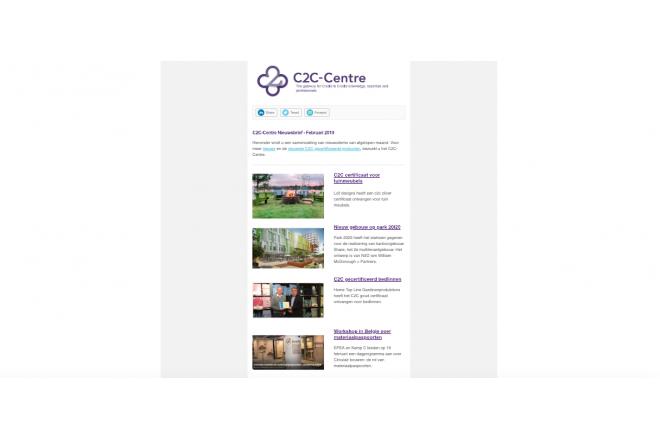 C2C-Centre nieuwsbrief februari 2019