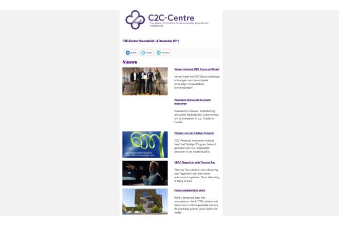 C2C-Centre Nederlandse nieuwsbrief van 4 December 2015