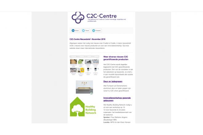 C2C-Centre nieuwsbrief november