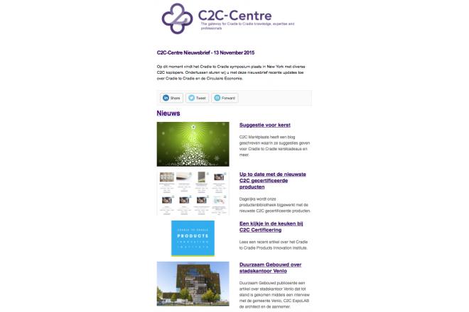 C2C-Centre Nederlandse nieuwsbrief van 13 November 2015