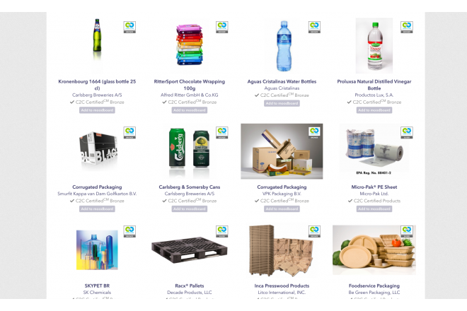 Do you know all these C2C Certified packaging products?