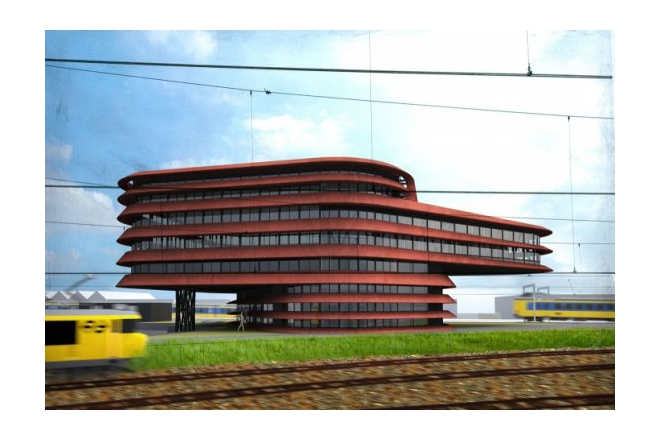 Deal between Desso and ProRail about sustainable new building in Utrecht