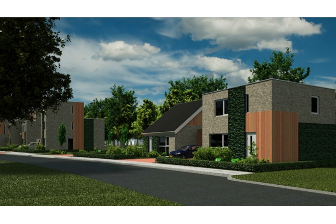 Start development C2C inspired residential neighbourhood in Venlo