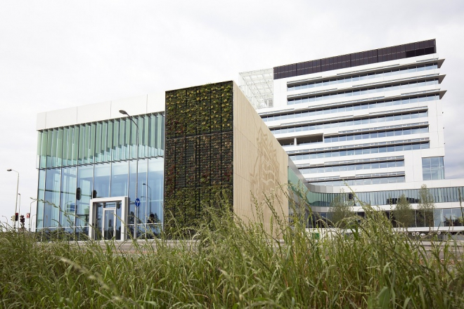 Article about material use in Venlo's new City Hall