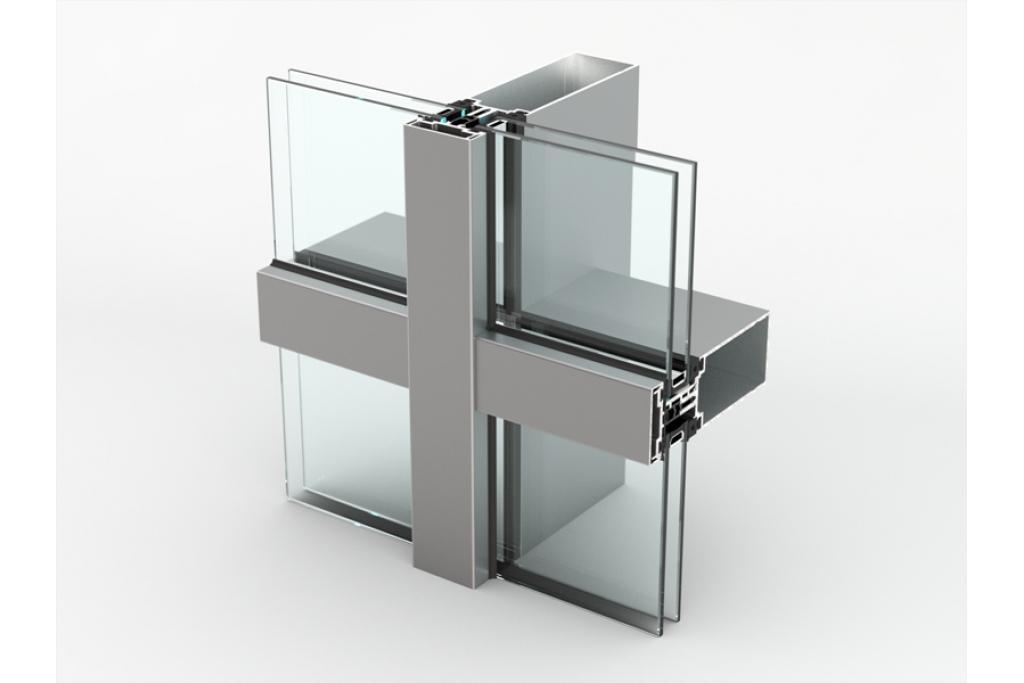 AA 100 Q Aluminium Curtain Wall   C2C-Centre