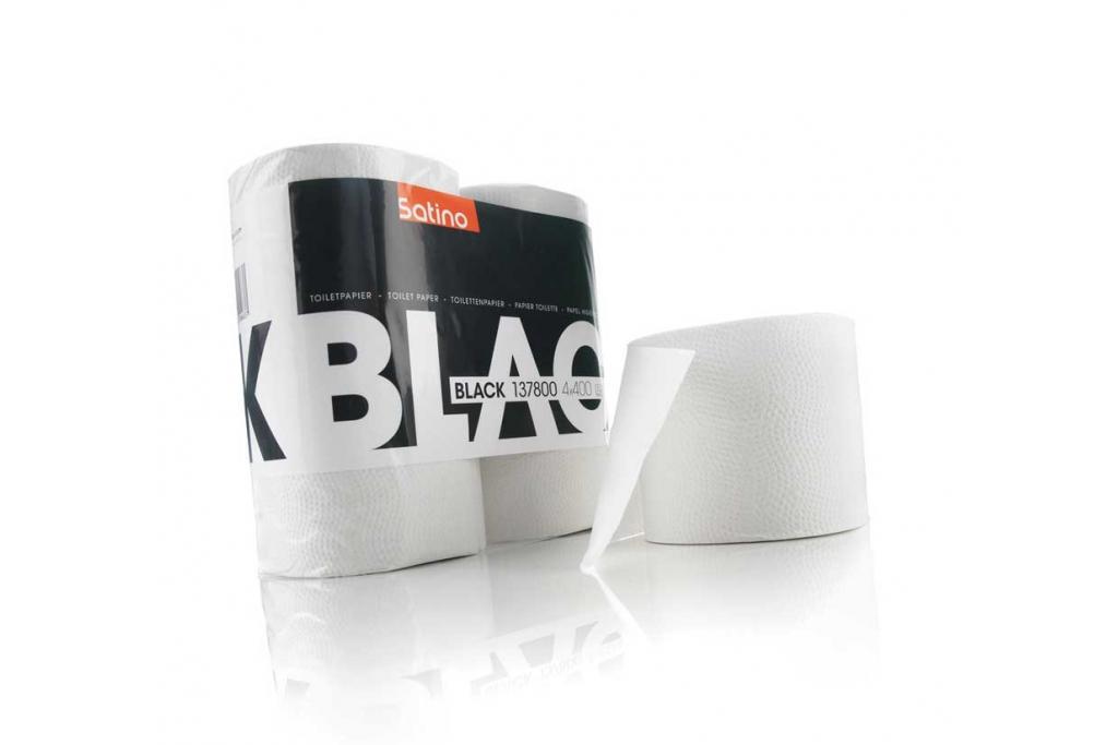 Satino Black Toilet Paper Super White | C2C-Centre